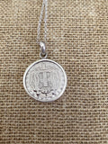 Greek Coin Necklace (GN032)