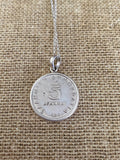 Greek Coin Necklace (GN033)