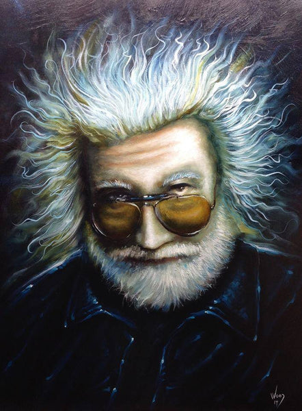 "Electric Jerry - 18"" x 24"" Watercolor Print"