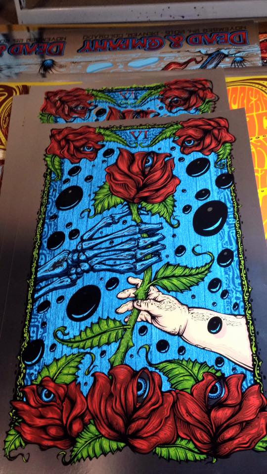 2015 Tarotpin Project Box of Rain Art Print All Editions - Zen Dragon Gallery