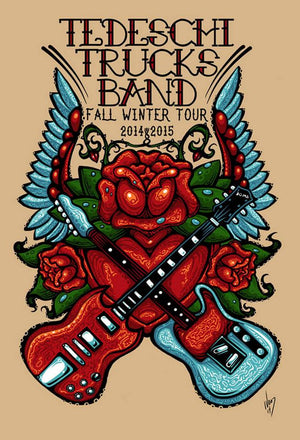 2014 & 2015 Tedeschi Trucks Band Tour - Zen Dragon Gallery