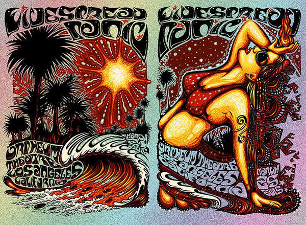 2015 Widespread Panic LA Woman ALL SIZES & VARIANTS - Zen Dragon Gallery