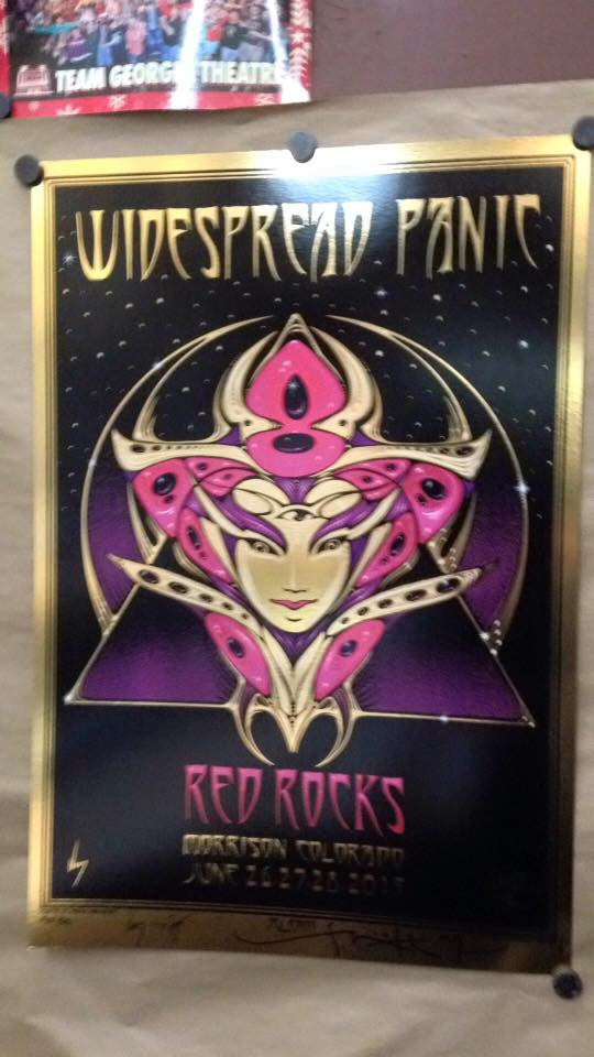 2015 Widespread Panic Mouse/Wood - Zen Dragon Gallery