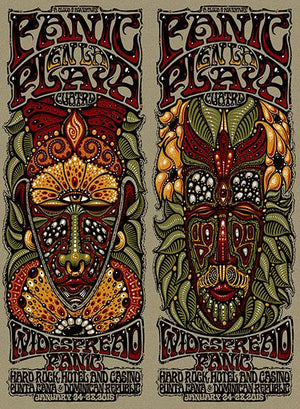 2015 Widespread Panic en la Playa Quatro - Zen Dragon Gallery