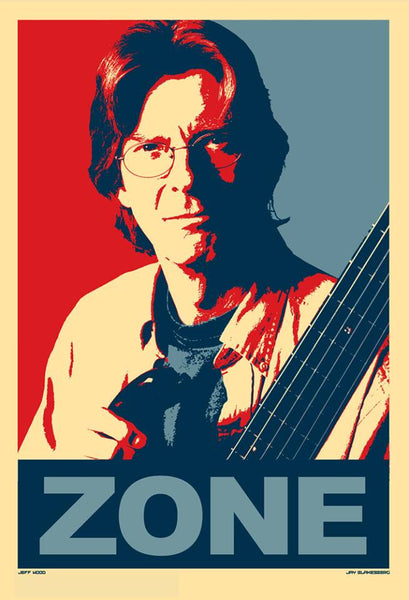 2009 Jay Blakesberg/Jeff Wood Phil Lesh ZONE Art Print