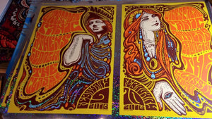 2016 Widespread Panic Classic Center Athens Uncut Diptych ALL SIZES & VARIANTS - Zen Dragon Gallery