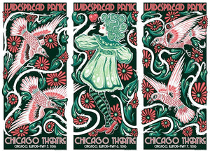 2016 Widespread Panic Chicago Uncut All Variants - Zen Dragon Gallery