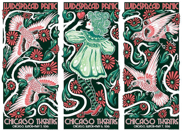 2016 Widespread Panic Chicago Uncut All Variants