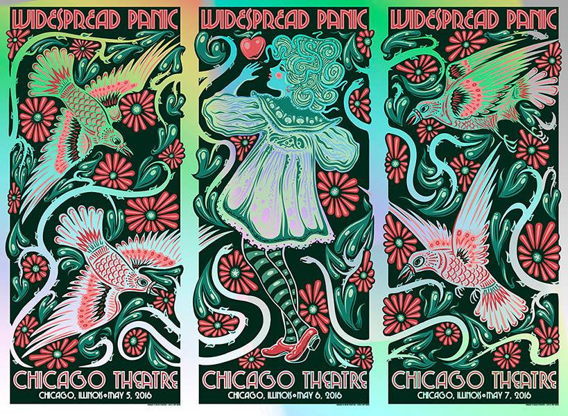 2016 Widespread Panic Chicago - Zen Dragon Gallery