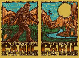 2016 Widespread Panic Bend OR - Zen Dragon Gallery