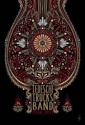 2017 Tedeschi Trucks Band Spring Tour - Zen Dragon Gallery