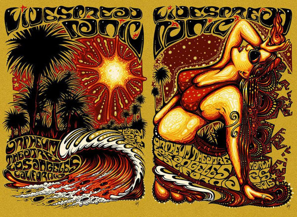 2015 Widespread Panic LA Woman ALL SIZES & VARIANTS