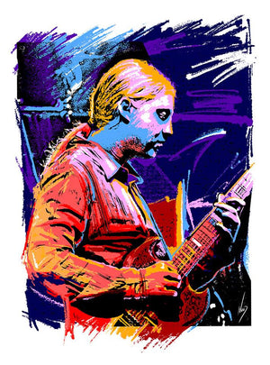 2017 Derek Trucks 'Prodigy' Art Print - Zen Dragon Gallery