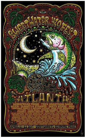 2017 Sweetwater Brewery 420 Fest Atlanta Poster