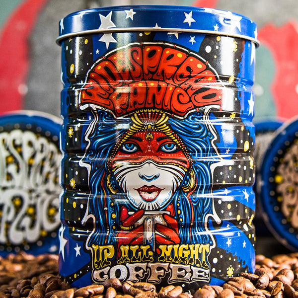 Jittery Joe's Up All Night Widespread Panic Coffee