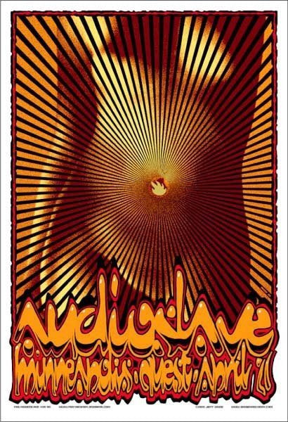 2005 Audioslave PNE Series Minneapolis Show Poster - Zen Dragon Gallery