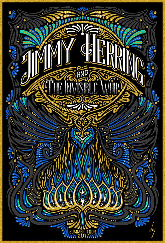 2017 Jimmy Herring & the Invisible Whip - Zen Dragon Gallery