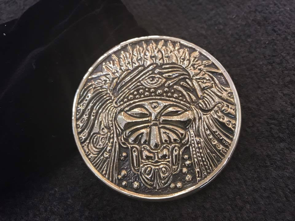 2017 Universal Shaman Belt Buckle - Zen Dragon Gallery