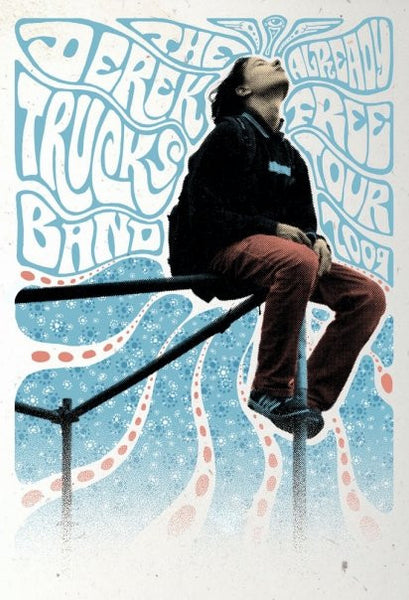 2009 The Derek Trucks Band Already Free Tour Poster - Zen Dragon Gallery