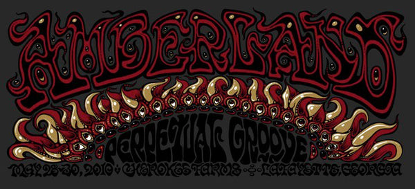 2010 Perpetual Groove Amberland Poster - Zen Dragon Gallery
