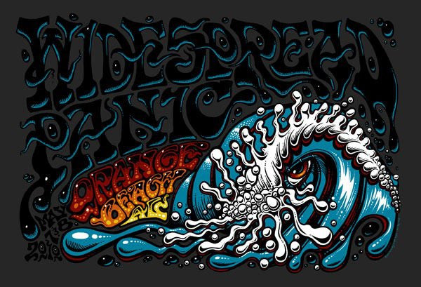 2010 Widespread Panic Orange Beach Show Poster - Zen Dragon Gallery