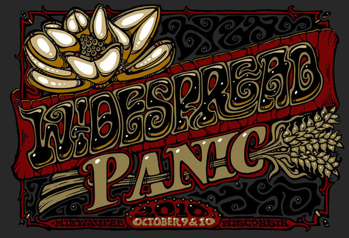 2010 Widespread Panic Milwaukee - Zen Dragon Gallery