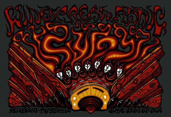 2010 Widespread Panic Red Rocks - Zen Dragon Gallery