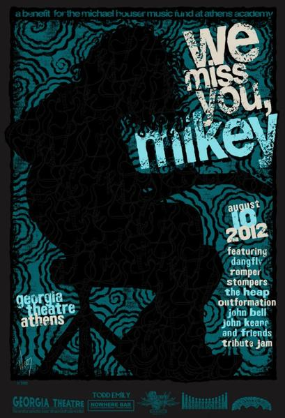 2012 We Miss You Mikey Print - Zen Dragon Gallery