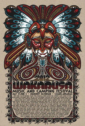 2012 Wakarusa Music Festival - Zen Dragon Gallery