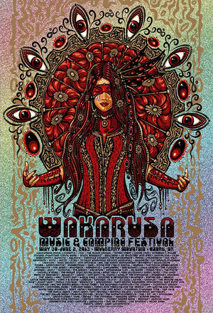 2013 Wakarusa Music Festival - Zen Dragon Gallery