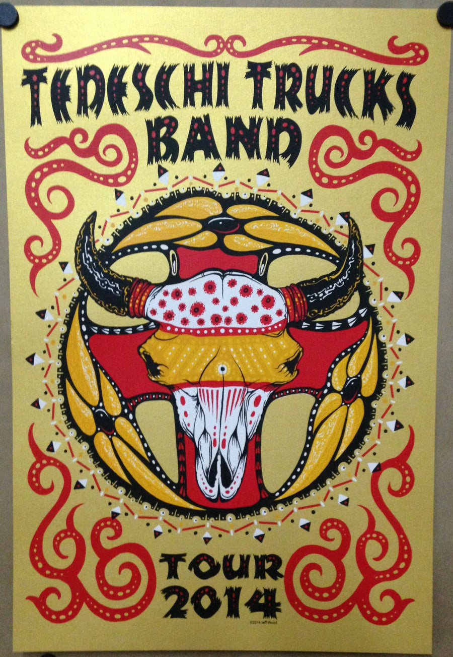 2014 Tedeschi Trucks Band Tour - Zen Dragon Gallery