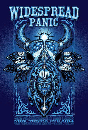 2014 Widespread Panic Charlotte NYE - Zen Dragon Gallery
