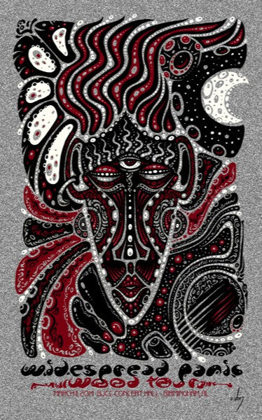 2014 Widespread Panic Birmingham Show Poster All Variants - Zen Dragon Gallery