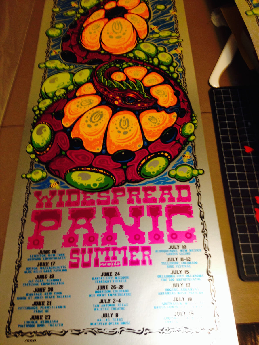 2015 Widespread Panic Summer Tour - Zen Dragon Gallery