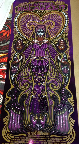 2016 Spirit of Suwanee Hulaween Festival Print ALL VARIANTS - Zen Dragon Gallery
