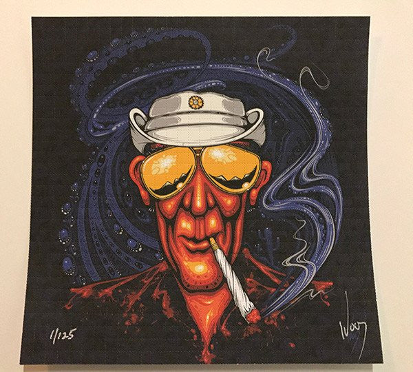 2017 Hunter S. Thompson Bat Country Vanity Blotter Art - Zen Dragon Gallery