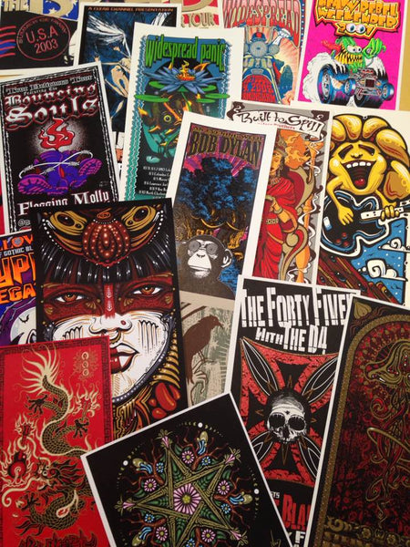 2017 Handbill Mystery Packs! 3 Options!! - Zen Dragon Gallery