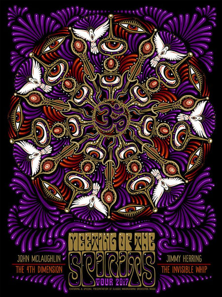2017 McLaughlin Herring Meeting of the Spirits Tour Poster