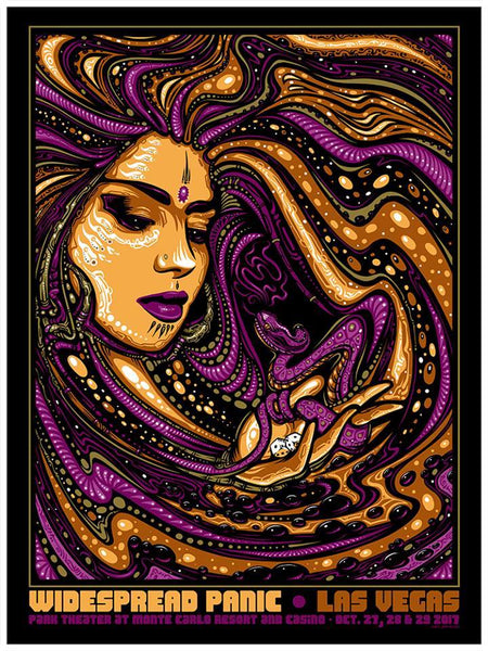 2017 Widespread Panic Las Vegas Halloween - Zen Dragon Gallery