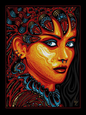 2018 Queen of the Damned Art Print - Zen Dragon Gallery