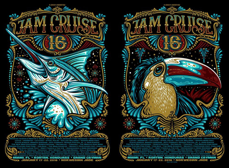 2018 Cloud 9 Adventures Jam Cruise 16 - Zen Dragon Gallery