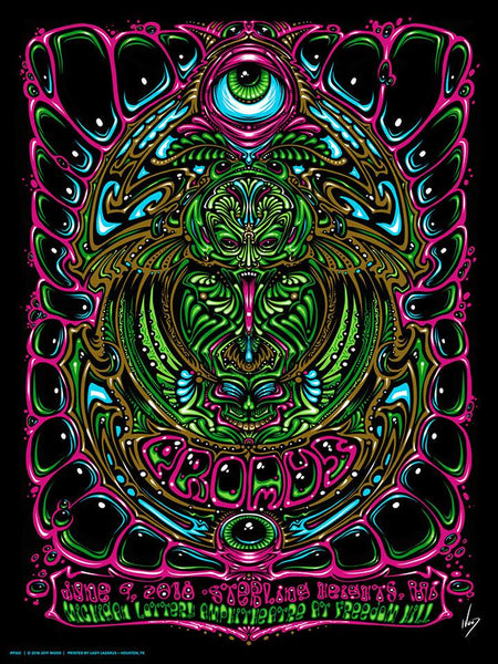 2018 Primus Sterling Heights, Michigan Show Poster