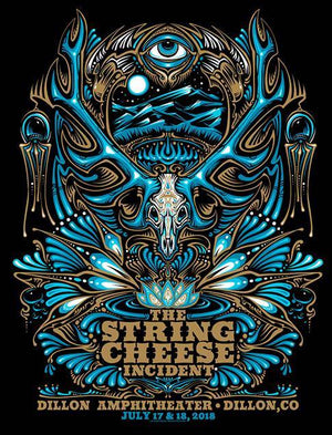 2018 String Cheese Incident Dillon CO - Zen Dragon Gallery