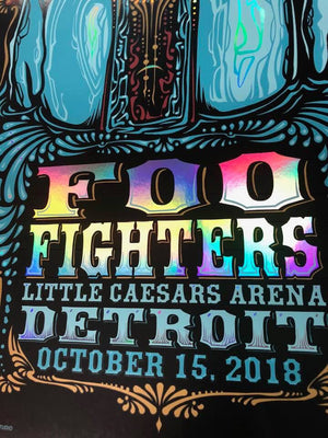 2018 Foo Fighters Detroit
