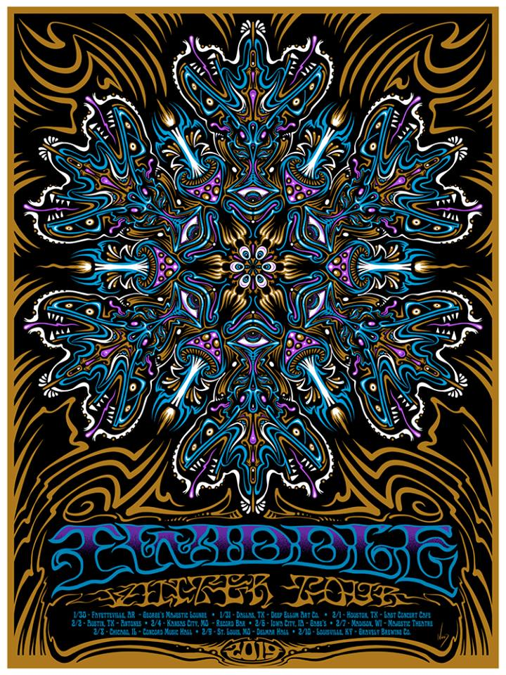 2019 Twiddle Winter Tour - Zen Dragon Gallery