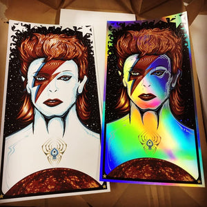 2019 Bowie Starman Art Print - Zen Dragon Gallery