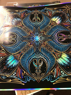 2019 Morningstar Mandala Art Print - Zen Dragon Gallery