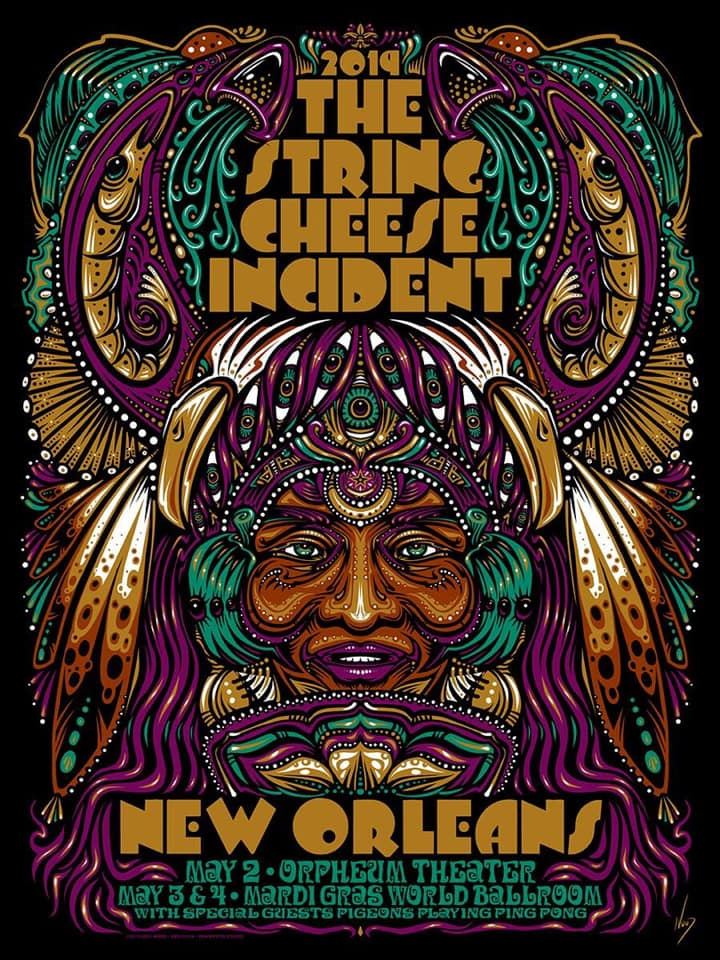 2019 String Cheese New Orleans - Zen Dragon Gallery