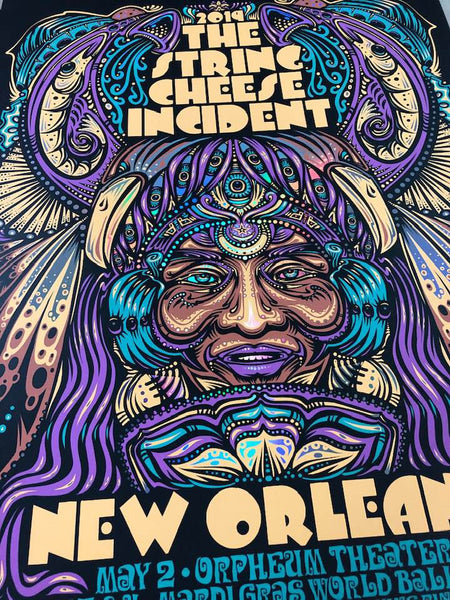 2019 String Cheese Incident New Orleans Show Print