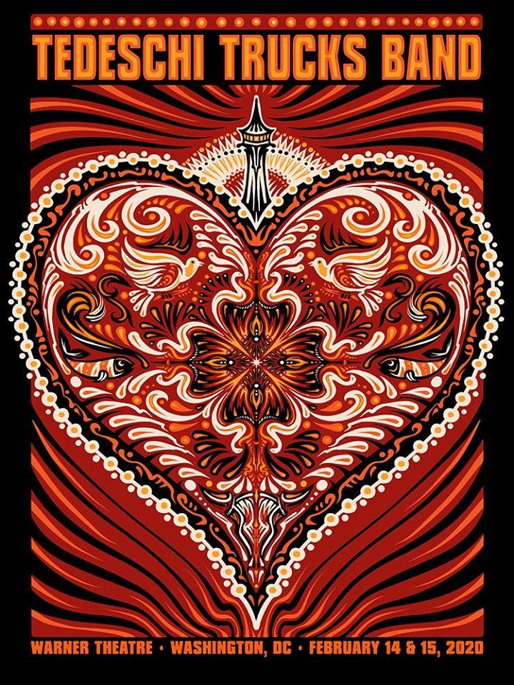 2020 Tedeschi Trucks Band Valentine - Zen Dragon Gallery